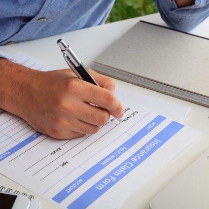 claim form insurance